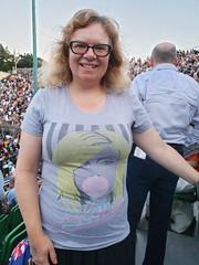 Sue At The Blondie Concert