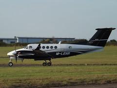 M-LENR Hawker Beechcraft B200GT King Air (BAe Systems Marine Ltd)