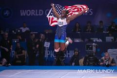1st Place Match: Tamyra Mariama Mensah (United States) over Anna Jenny Eva Maria Fransson (Sweden)  •  Dec 8-2 - 2019 World Championships