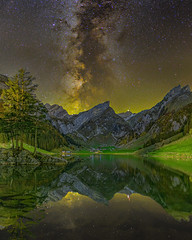 Seealpsee milky way