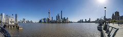 Huangpu river, Pudong and the Bund