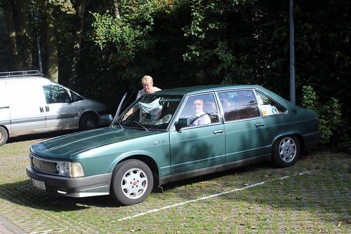 1993 Tatra 613 at the bird sanctuary