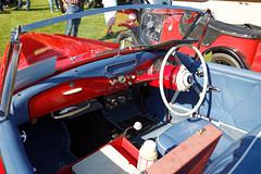 1954 Sunbeam Talbot Alpine sports roadster at Capel Manor, Enfield, London, England 3