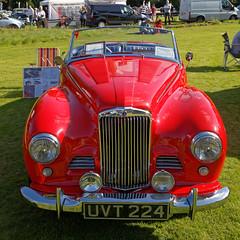 1954 Sunbeam Talbot Alpine sports roadster at Capel Manor, Enfield, London, England 2