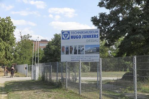 Eingang Technikmuseum Hugo Junkers