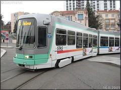 Alsthom TFS (Tramway Français Standard) – TPAS (Transports Publics de l'Agglomération Stéphanoise) (Veolia Transport) / STAS (Société de Transports de l'Agglomération Stéphanoise) n°921