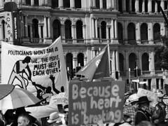 School Strike 4 Climate Brisbane 054 BW