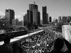 School Strike 4 Climate Brisbane 001 BW