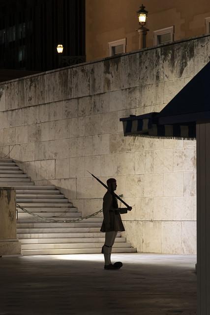 Night in Atene