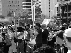 School Strike 4 Climate Brisbane 046 BW