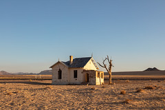 Lost Train Station in Namibia