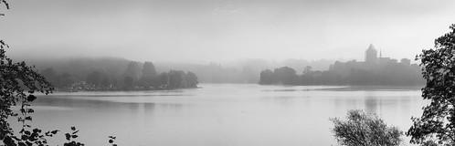 Ratzeburger See im Nebel