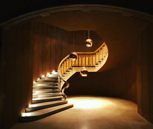 Escaliers du bonheur ! Château d'Yquem
