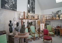 L'atelier de l'artiste (musée Paul Belmondo, Boulogne-Billancourt)