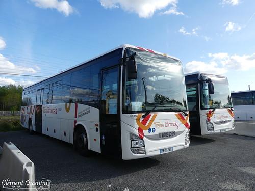 IVECO BUS Crossway Pop - 4456 - CFTI Transports David & IVECO BUS Crossway Pop - 4478 - Citram Aquitaine