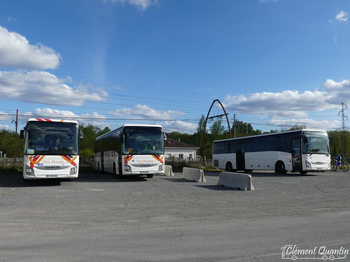 IVECO BUS Crossway Pop - 4456 - CFTI Transports David & IVECO BUS Crossway Pop - 4478 - Citram Aquitaine & IVECO BUS Crossway Pop - 4469 - CFTI Transports David