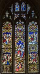 Sleaford, St Denys' church window