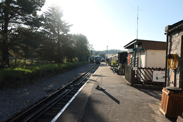 Dufftown train station