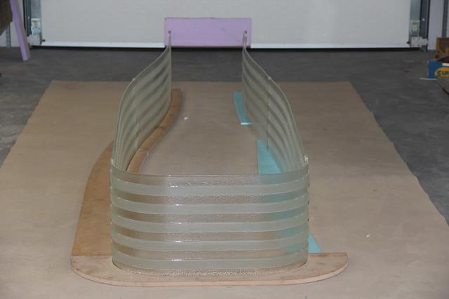 prototyp fusingového skla