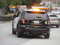 Los Angeles County Sheriff Ford Police Interceptor Utility