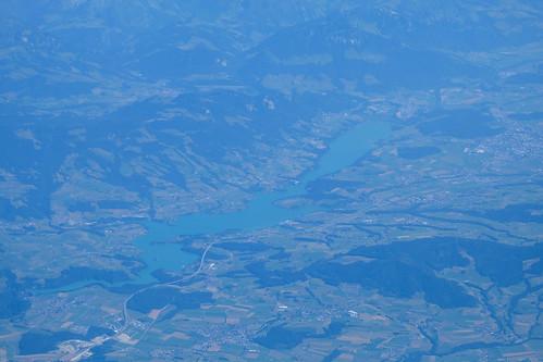 Flight MUC - BIO -> Lac de la Gruyère