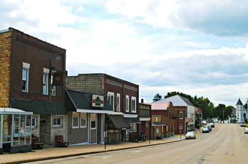 Main Street - Ridgeway, Wisconsin