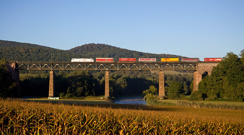 TX Logistics 185 + Güterzug/goederentrein/freight train  - Oberrieden