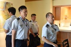 Japan Air Staff College Student Tour - U.S. Army Garrison Humphreys, South Korea -  20 Sept. 2019