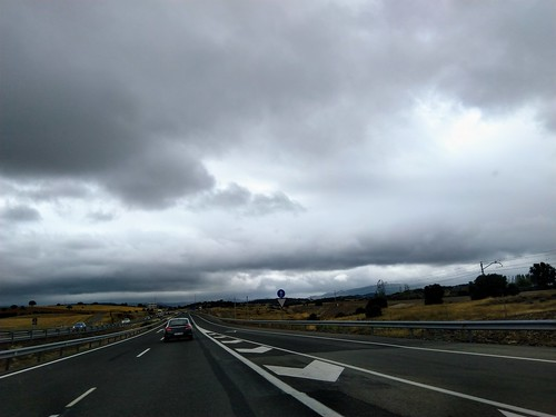 Along A4/E5 Spain at Almuradiel