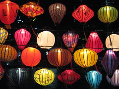 Chinese Lanterns by Day and by Night