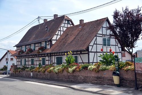 Fachwerkhaus in Soufflenheim