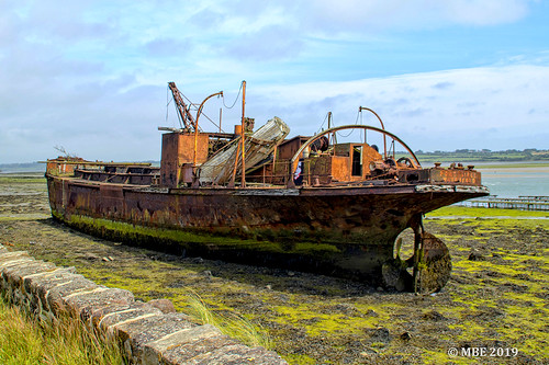 Wreck of the MV Port Lairge