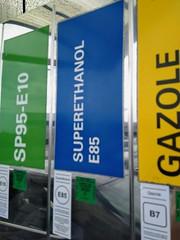Bio-ethanol E85 in France