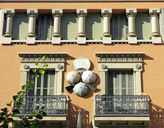 "Casa Bruno Cuadros (the ""Umbrella House""), La Rambla, Barcelona"