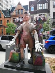 Jim Dine, Oeuvres à Montréal en espace public