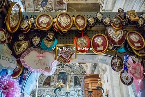 Tirano (SO), 2019, Il Santuario della Madonna di Tirano. Ex Voto.