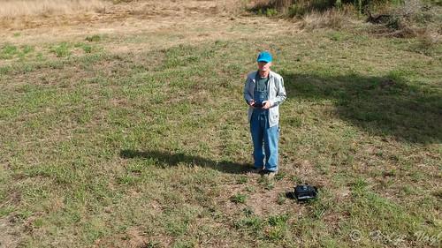 Farmerboy als Drohnenpilot