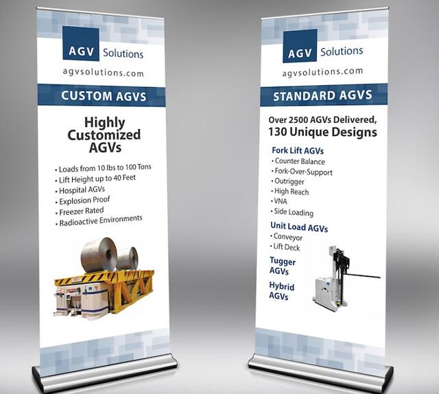 AGV Solutions Trade Show Signage