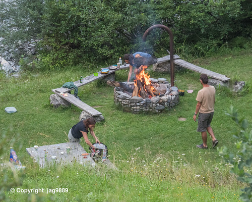 Fire Place Mulin on the Valser Rhine, Uors, Canton of Grisons