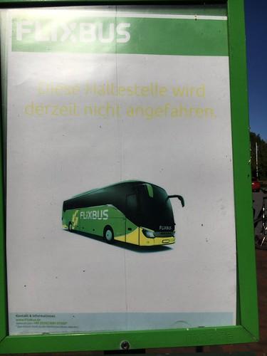 In Tating fährt kein Flixbus mehr!
