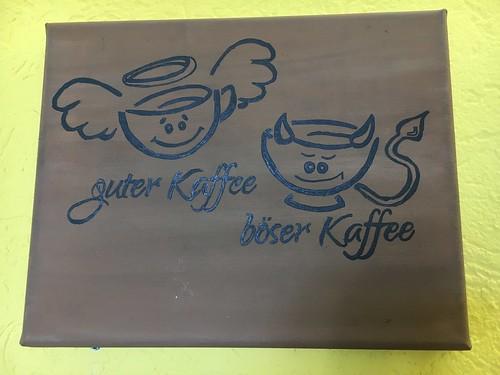 Guter Kaffee - böser Kaffee