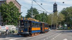 Amsterdam Haarlemmermeerstation tram 307-792 rondje VU