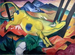 Franz Marc. Yellow Cow (Gelbe Kuh), 1911