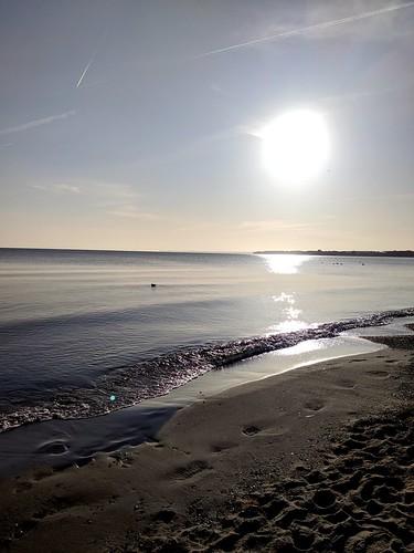Timmendorfer Strand am frühen Morgen