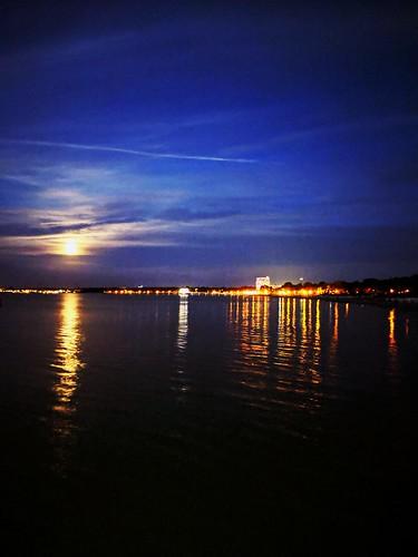 Timmendorfer Strand bei Nacht