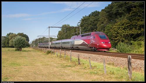 Thalys 4322 @ Sint Mariaburg
