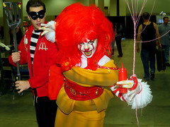 #McDonald's serving billions in the most friendly manner.
