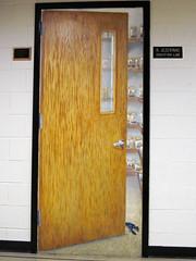 Painting of Ray Jezerinac's crayfish lab (Ohio State University of Newark) 1