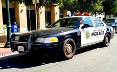 Watsonville Police Ford Crown Victoria