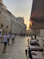 City center of Siracusa on Sicily, Italy